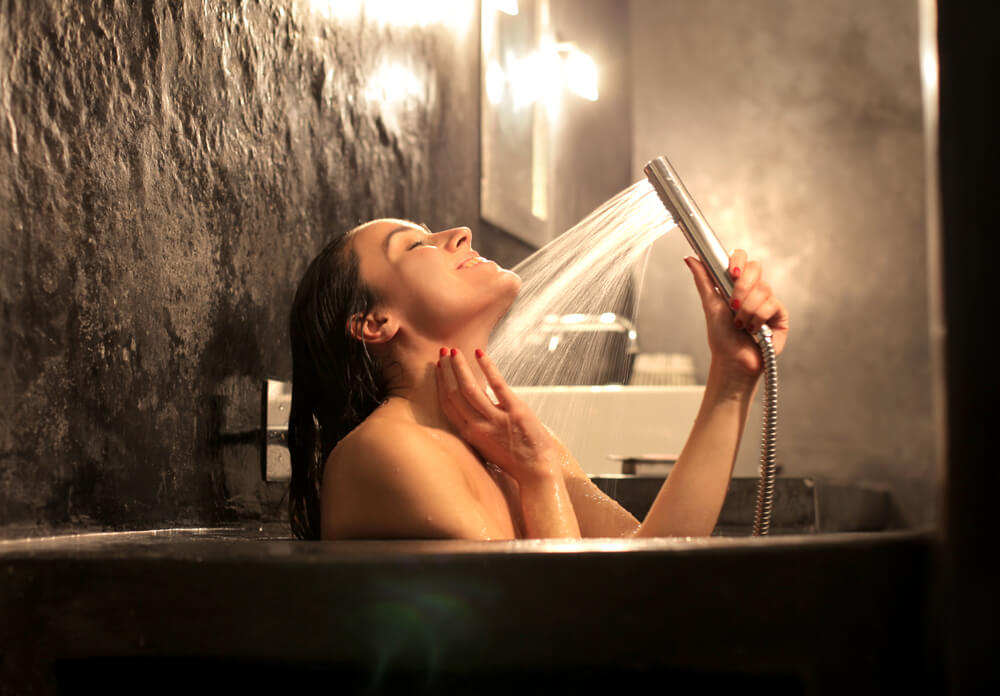 Banhos de água quente
