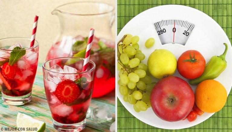 Bebidas depurativas para bajar de peso
