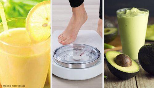 5 bebidas recomendadas para perder peso