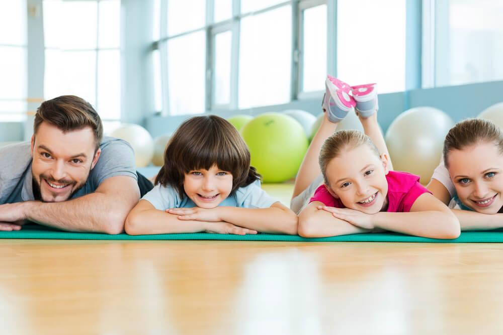 Beneficios físicos del deporte en familia