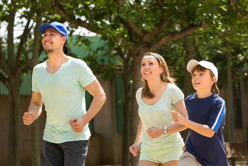 Beneficios psicológicos del deporte en familia