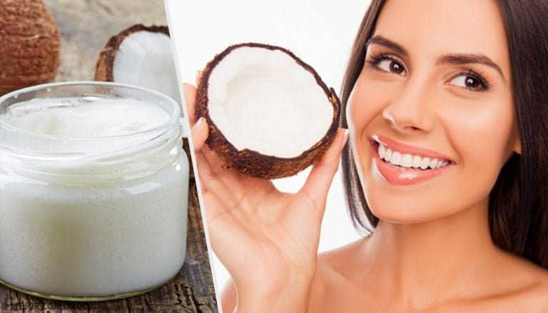 Pasta dental con aceite de coco