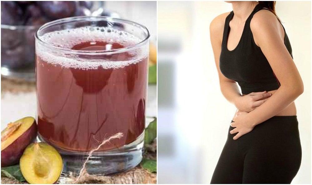 Remedio de ciruela para la obstrucción intestinal