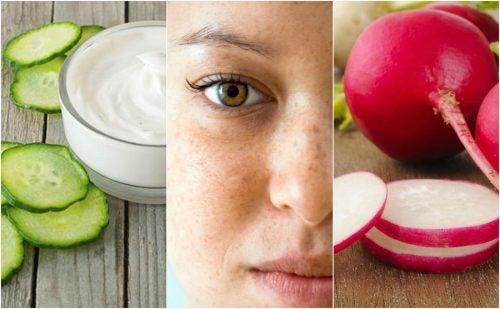 Cómo atenuar las manchas de tu cara con 5 remedios de origen natural