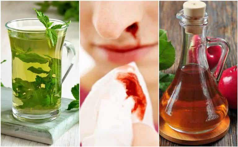 Cómo detener el sangrado nasal con 5 remedios naturales