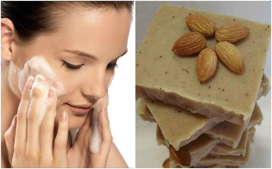 Cómo hacer un jabón artesanal de coco y leche de almendras para cuidar tu piel