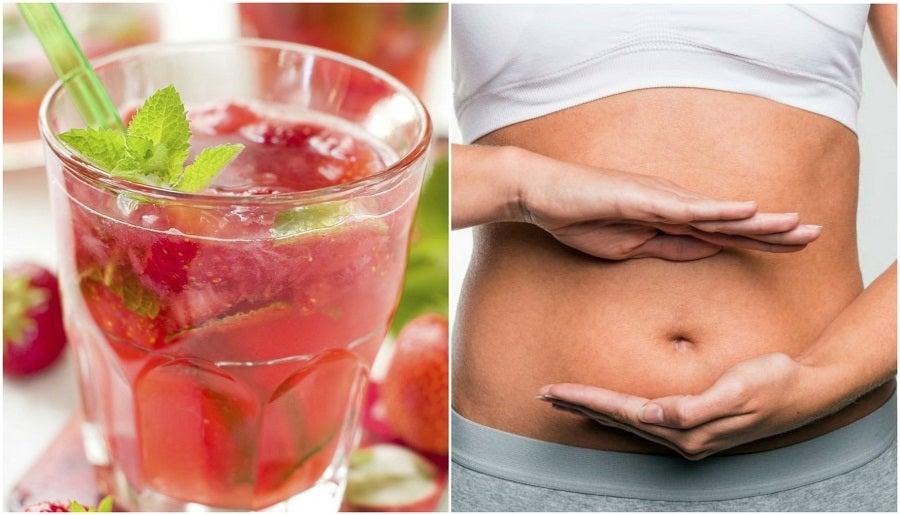 Cómo preparar agua de fresas y limón para desintoxicar tu organismo