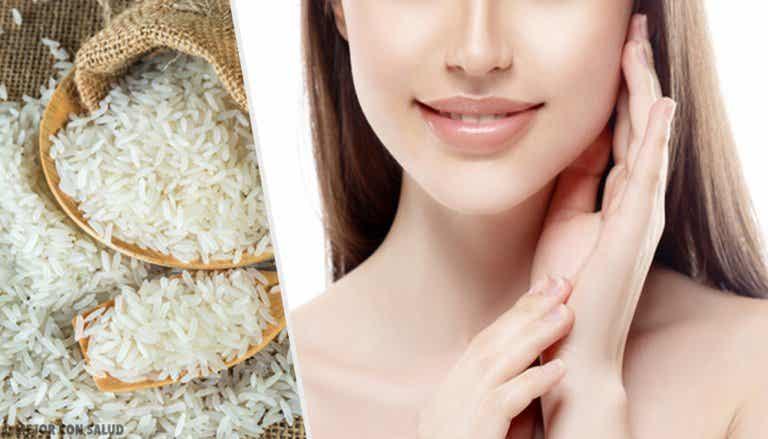 Cómo usar arroz para tener una piel envidiable