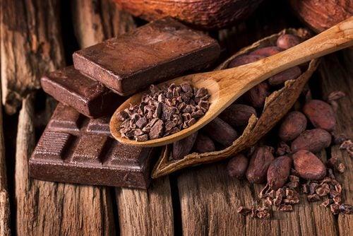 Cacao fuente de polifenoles.
