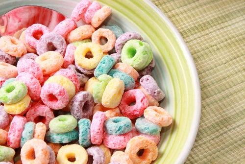 Cereales azucarados.
