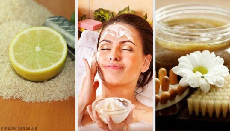 Cómo combatir la piel seca con exfoliantes de azúcar
