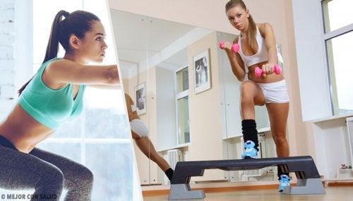 Rutina de ejercicios para moldear y tonificar las piernas