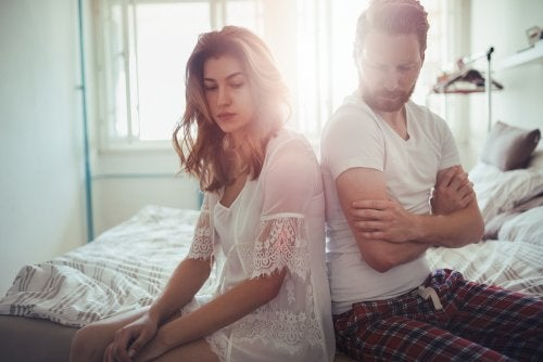 problemas de cada pareja - Dar la espalda a los problemas