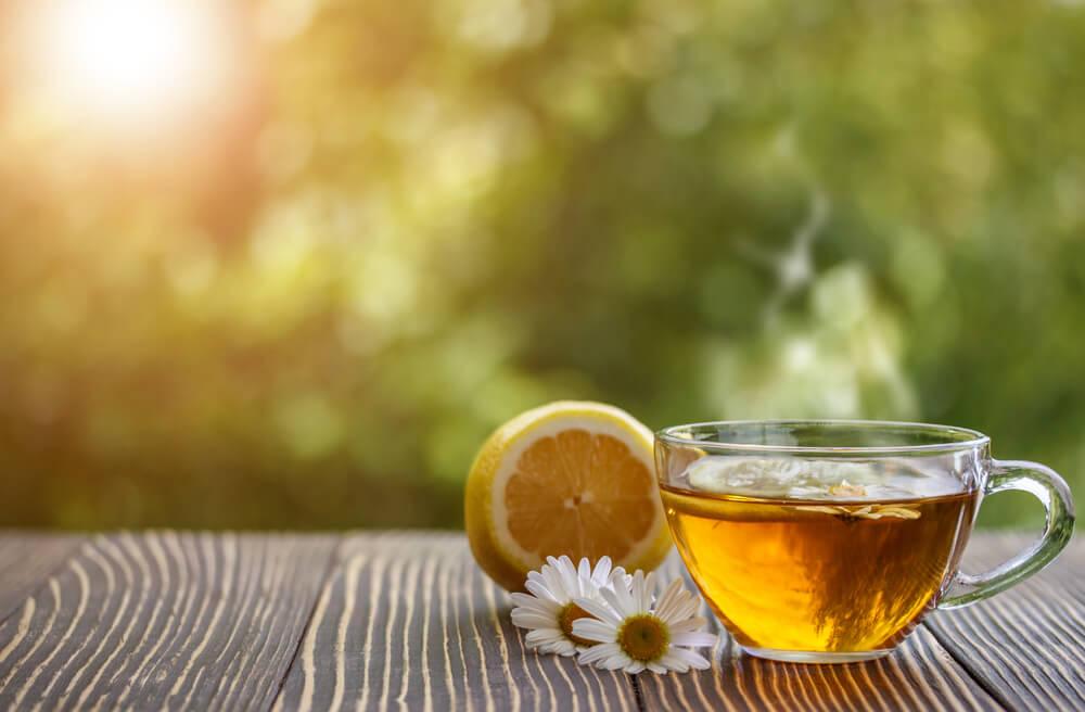 Desmaquillante de limón y manzanilla