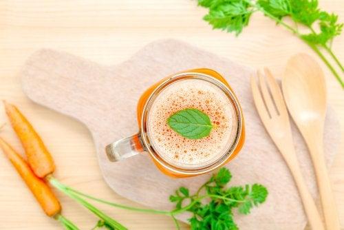 Detox de zanahorias