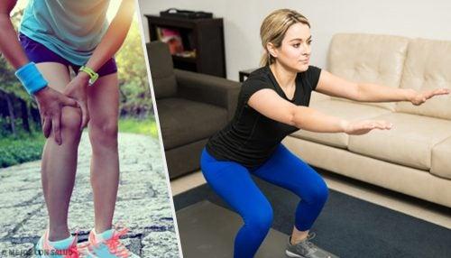 5 consejos y ejercicios para tener rodillas fuertes
