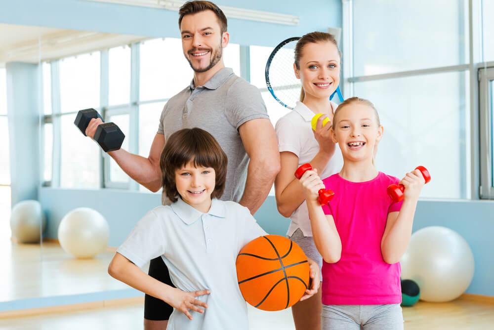 El deporte en familia y sus grandes beneficios