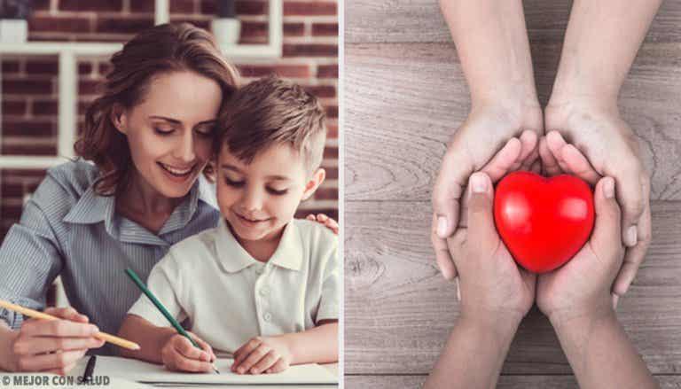El refuerzo positivo en la educación de los hijos