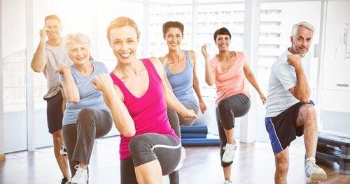 Elige ejercicios diferentes a los convencionales