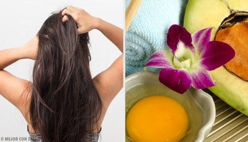 Elige tu champú casero según tu tipo de cabello