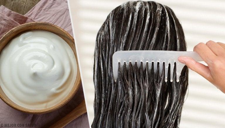 Embellece tu cabello con mascarillas de mayonesa