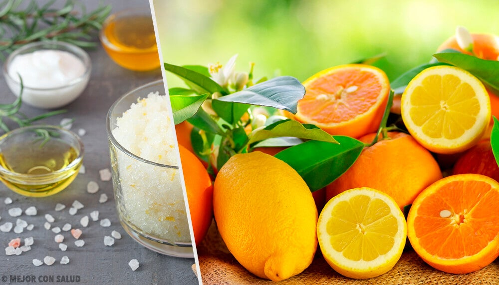 5 exfoliantes cítricos para combatir las impurezas y tratar la piel