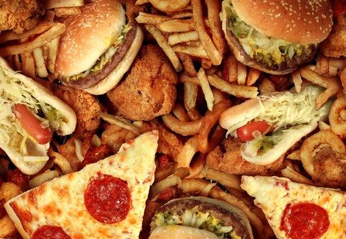 los peores alimentos