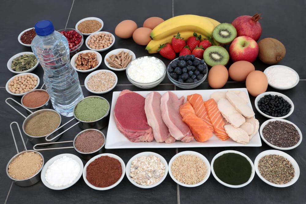 Hay alimentos ricos en creatina