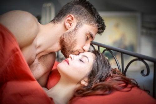 Pareja después del sexo