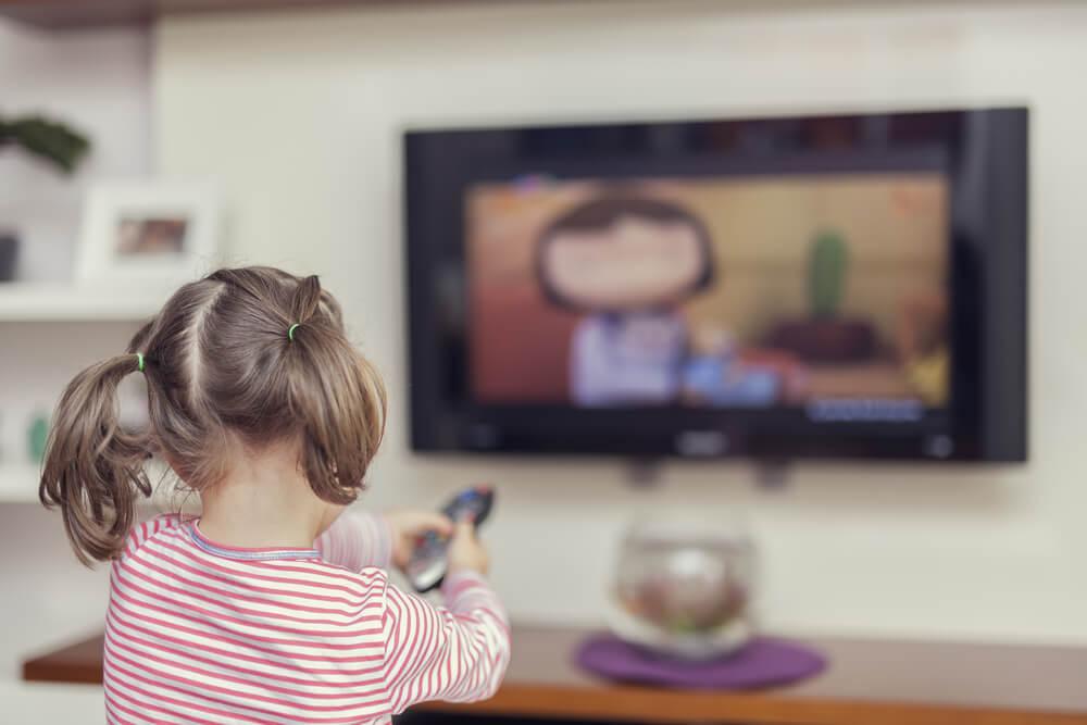 La televisión y los niños pequeños