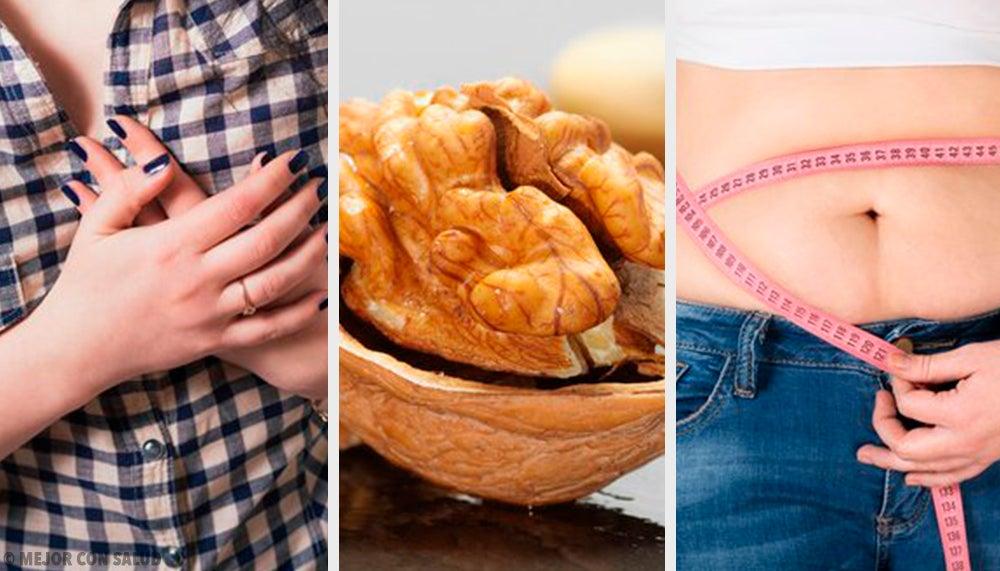 Las nueces y sus 10 increíbles propiedades como frutos secos para perder peso