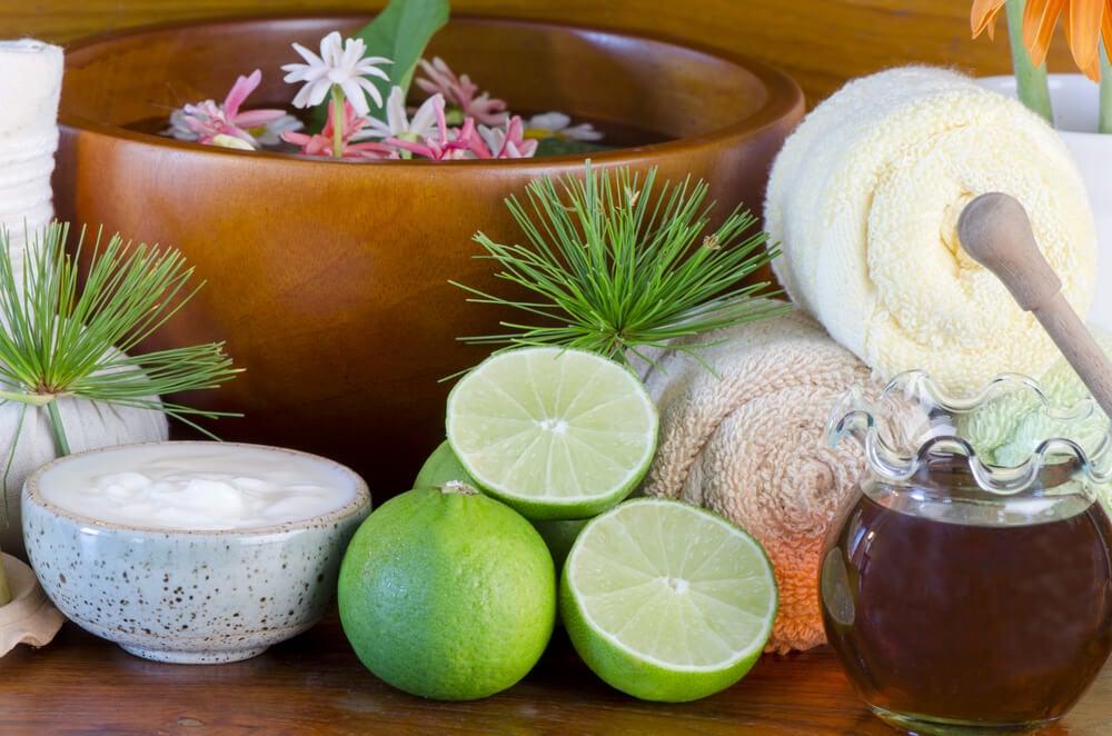Mascarilla de limón para pieles sensibles