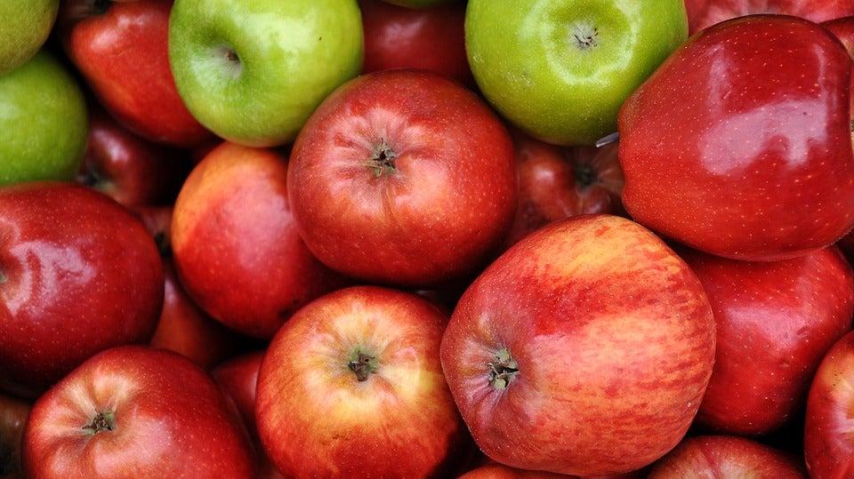 Manzanas para hacer batidos nutritivos