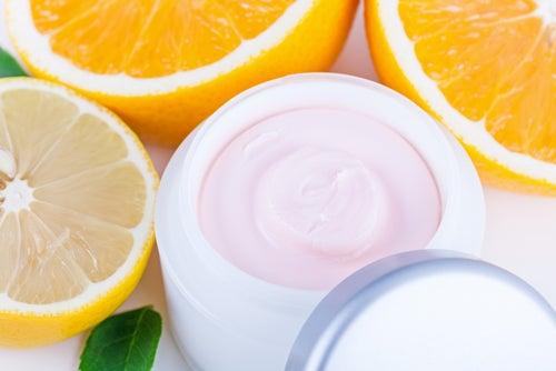 Mascarilla de vitamina C