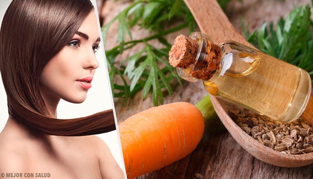 Zanahoria para cabello seco