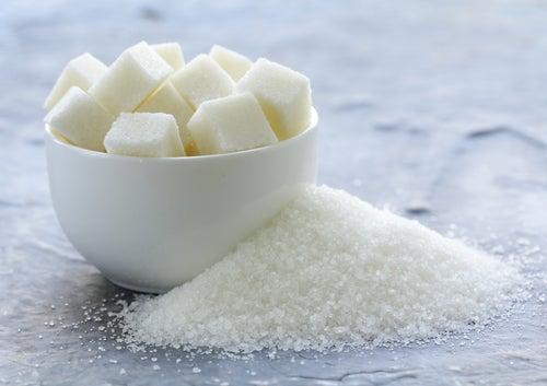 Mejor sin azúcar. combatir la piel seca