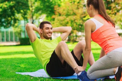 Plantéate entrenar con tu pareja