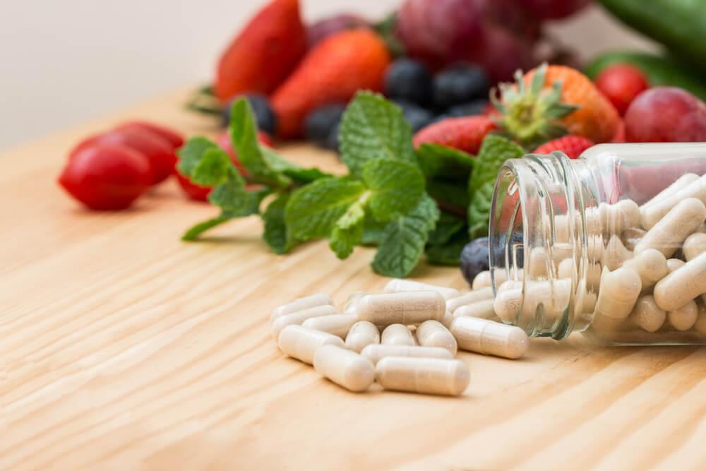 Fuentes de vitaminas.