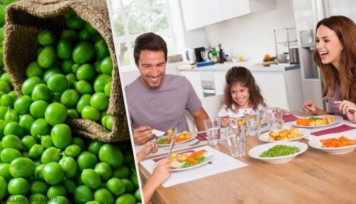3 razones para comer chícharos