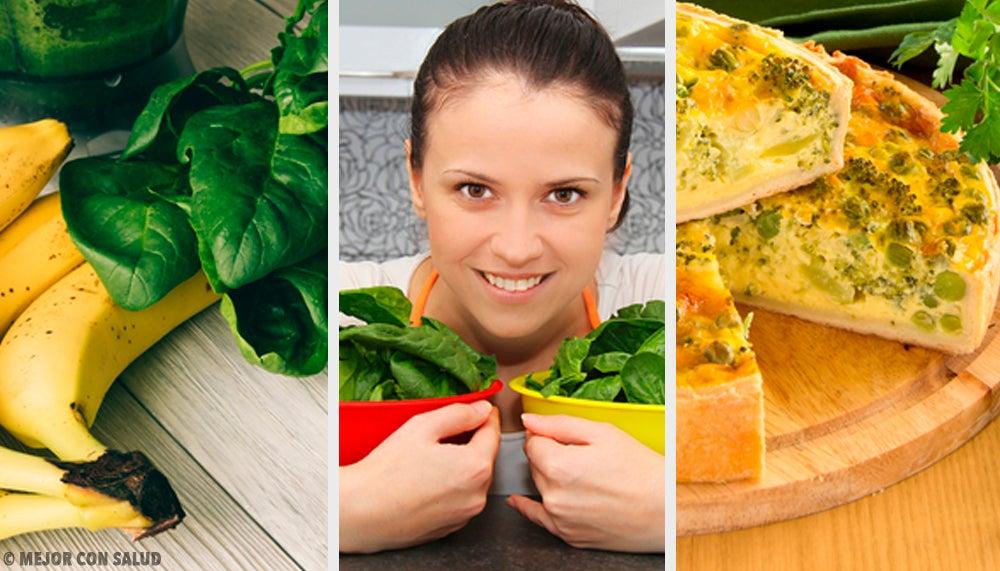 5 recetas con espinacas que debes incluir en tu dieta