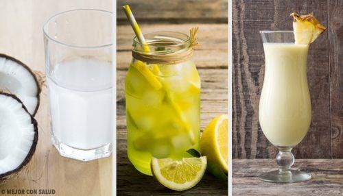 4 recetas muy interesantes de bebidas isotónicas caseras
