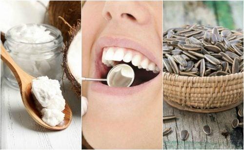 Reduce la acumulación de placa dental con 6 soluciones naturales