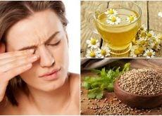 Reduce la picazón en los ojos con estos 5 remedios naturales