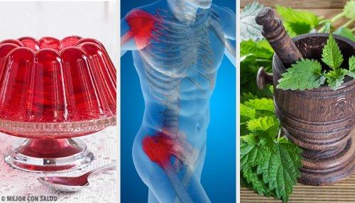 Remedios naturales para fortalecer cartílagos y ligamentos