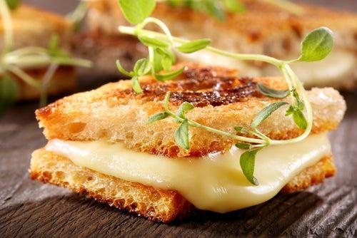 sandwich de queso