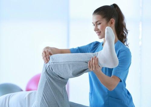 Relaja los músculos