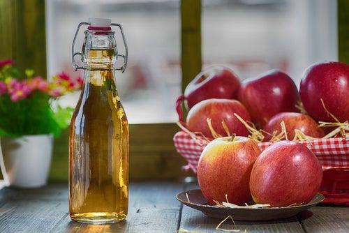 Vinagre de sidra de manzana para la hernia de hiato