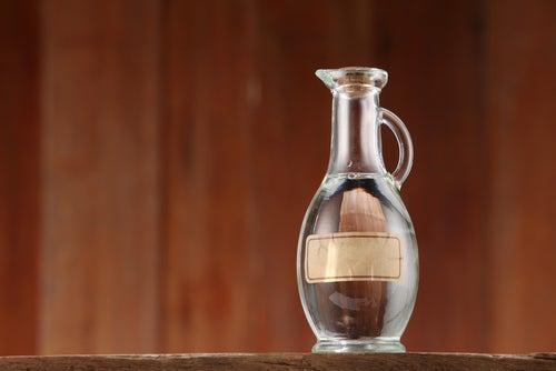 Vinagre y alcohol