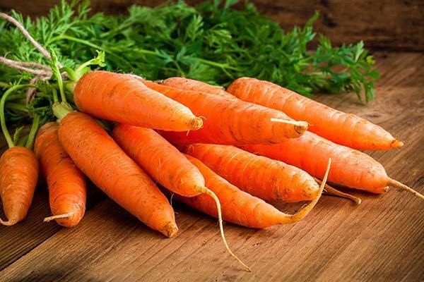Zanahorias para subir plaquetas