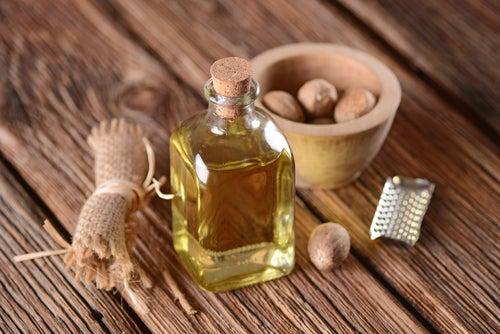 aceite de nuez contra las arrugas